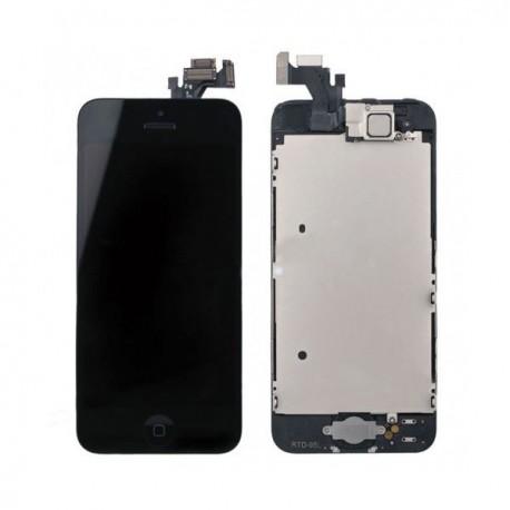 Vitre tactile noire ou blanche avec écran Retina pour iPhone 5