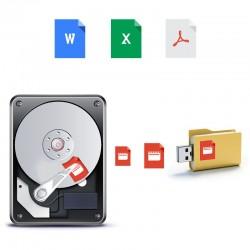 Sauvegarde des données simple