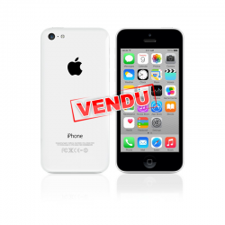 iPhone 5C blanc d'occasion