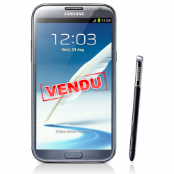 Samsung Galaxy Note 2 gris d'occasion