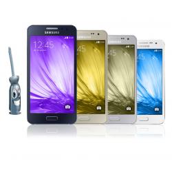 Remplacement de la vitre tactile avec écran Galaxy A3
